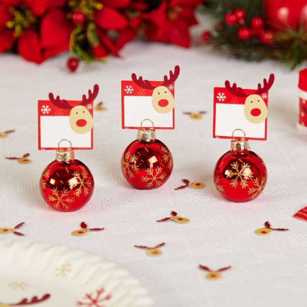 Rocking Rudolf - Place Cards (10)